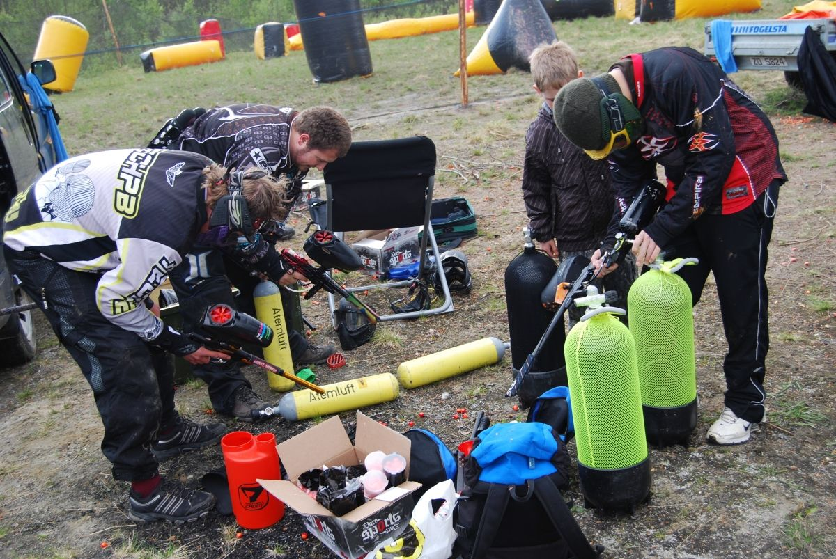 Participants in paintball in the U.S. from 2006 to 2017